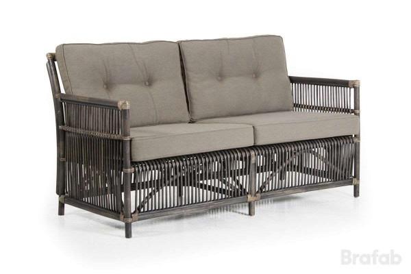 Bonete 2,5 sits soffa grå med dyna