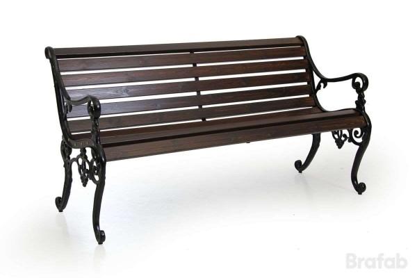 Sandvik soffa 150 svart/java