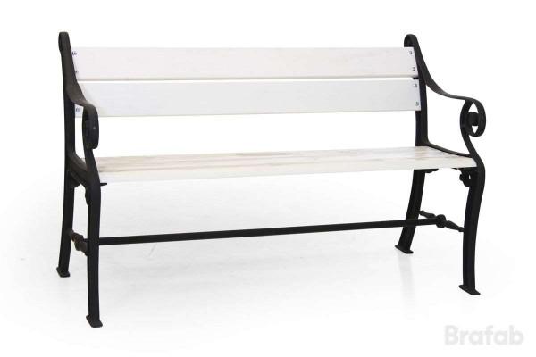 Köpenhamn soffa 130cm svart/vit Brafab