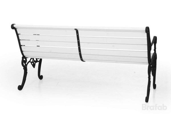 Sandvik soffa 150 svart/vit Brafab