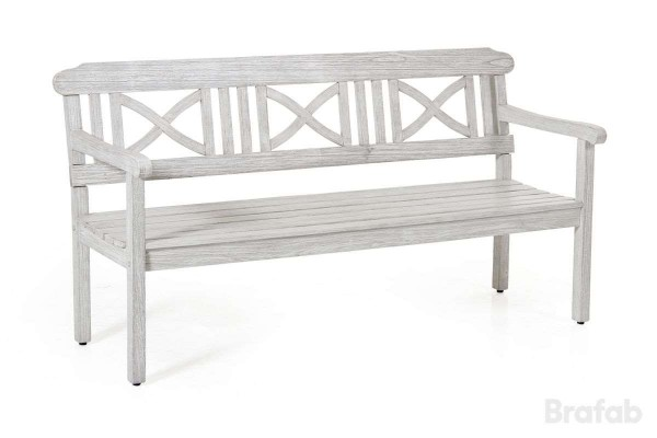 Dakota 3-sits soffa antikvit med dyna Brafab