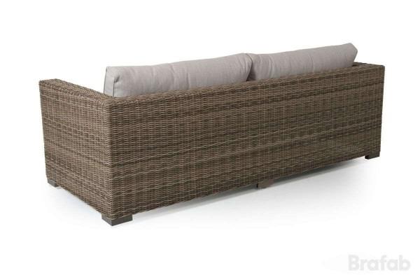 Ninja 3-sits soffa rustik med geige dyna