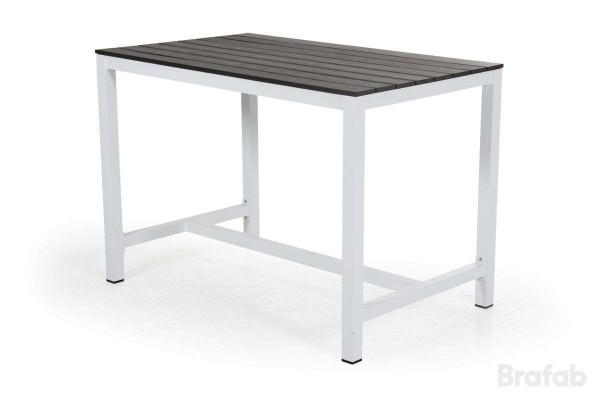 Leone barbord 130x80 h90 vit/grå