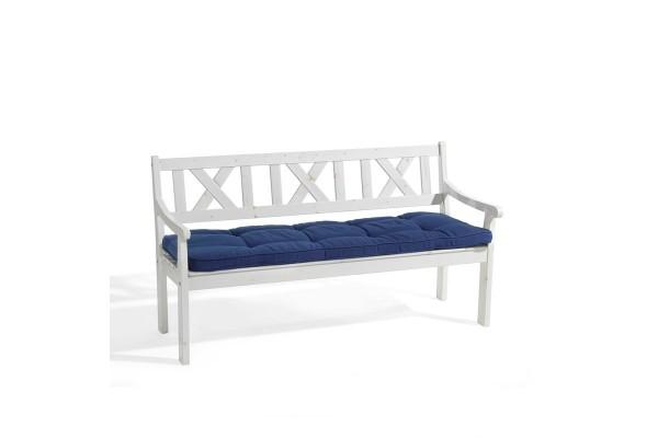 Bänkdyna 165x50x6 marinblå dralon Fritab