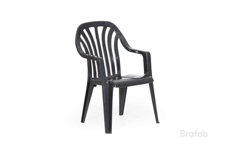 Vela stapelbar karmstol hög Brafab