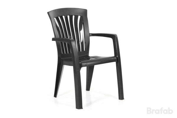 Diana stapelbar karmstol hög Brafab
