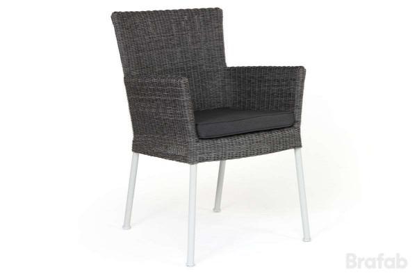 Somerset karmstol med grå dyna Brafab