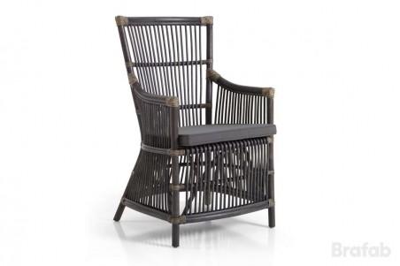 Bonete karmstol grå med dyna Brafab