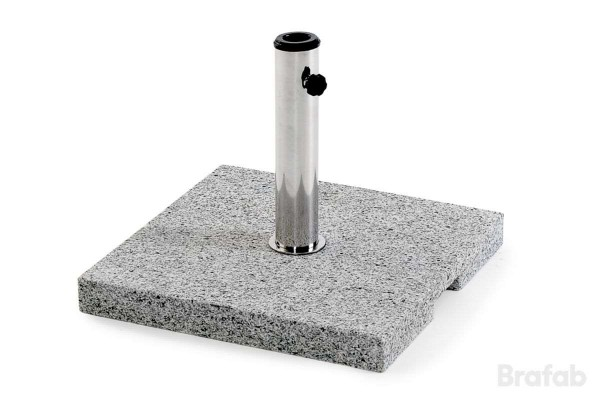 Odin parasollfot granit 45x45 40 kg