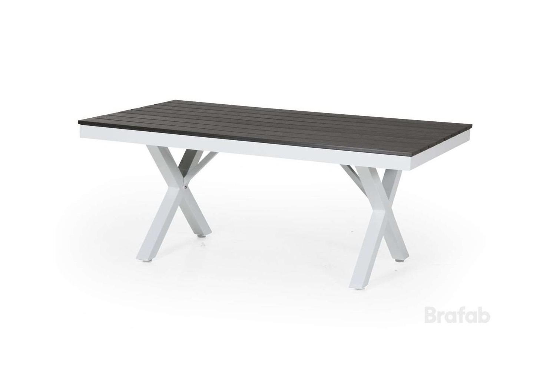 Leone soffbord 130x80 h55 vit/grå