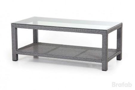 Ninja soffbord 120x60 H46 grå Brafab