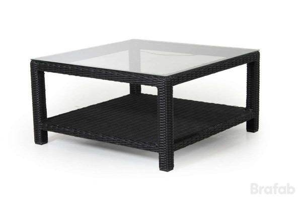 Ninja soffbord 90x90 h46 svart Brafab