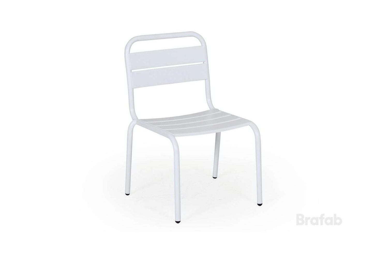Nera barnstol vit Brafab