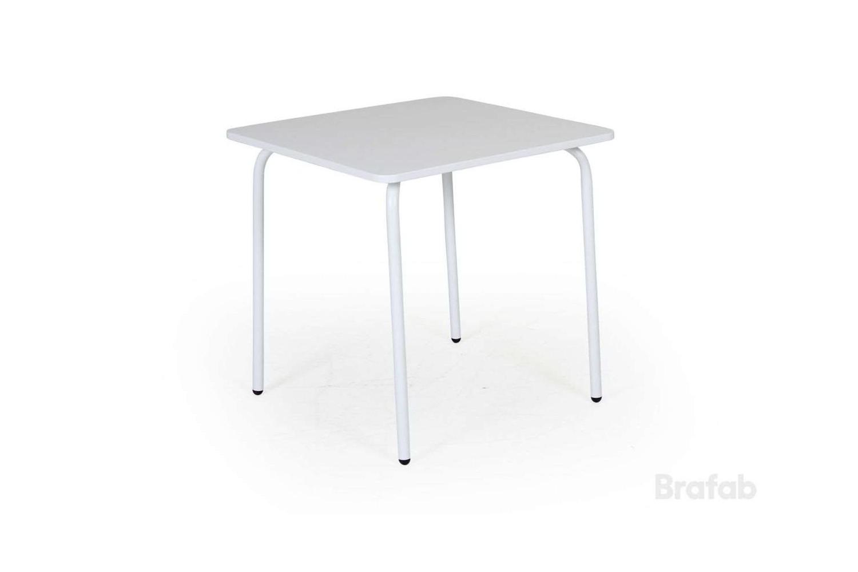 Nera barnbord vit Brafab
