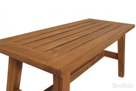 Vidos matbord130x70 h55 blästrad natur