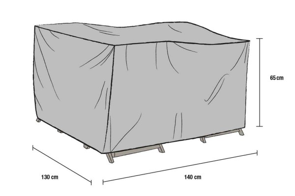 Möbelskydd 140 x 130 x 65 cm Brafab