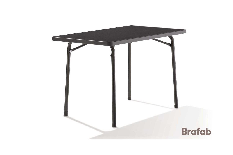 Mecalit bord fällbart 115x70 h70 grå