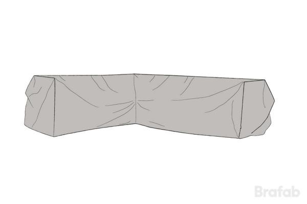 Soffskydd L330/R254x90x66 cm