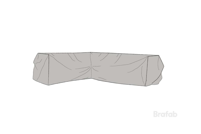 Soffskydd L330/R254x90x66 cm Brafab