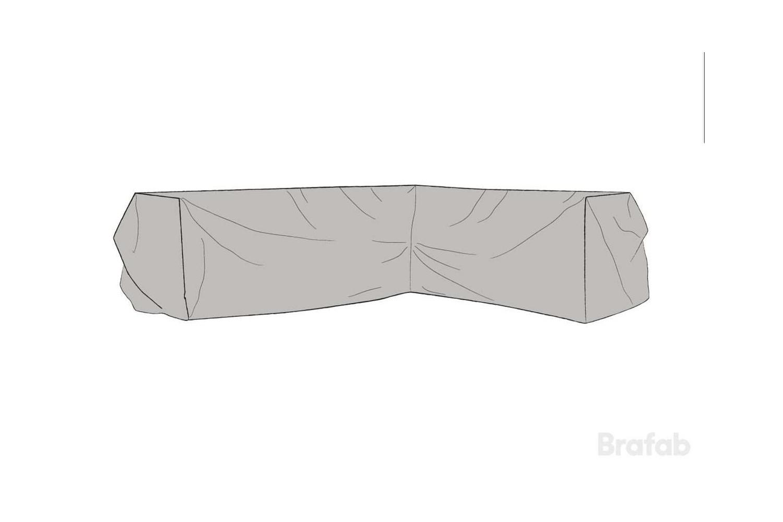 Soffskydd L254/R330x90x66 cm Brafab