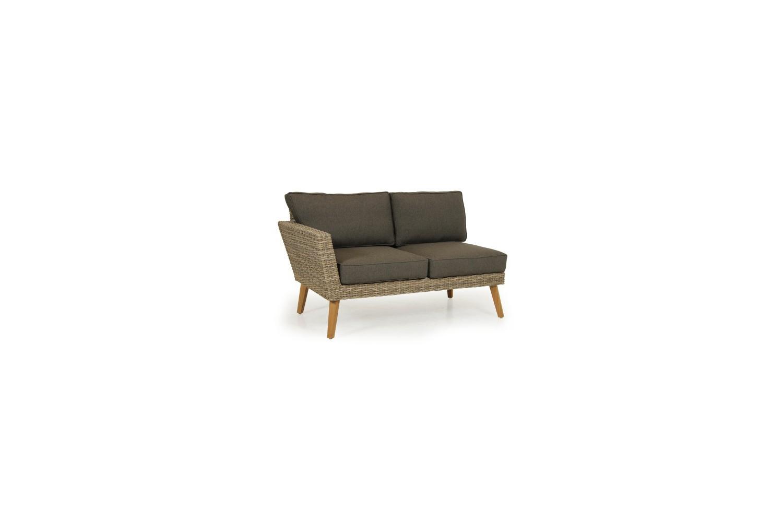 Norwalk soffa 2-sits avslutl H brun med dyna