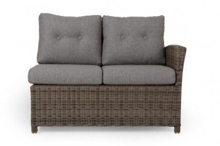 Soho soffa rustik 2-sits HV med dyna Brafab