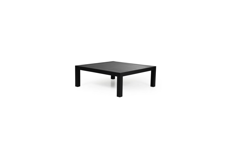 Stettler Soffbord 112x112 H42 matt svart