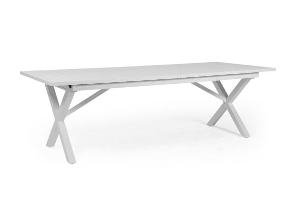 Hillmond matbord 240/310x100 H75 cm vit Brafab