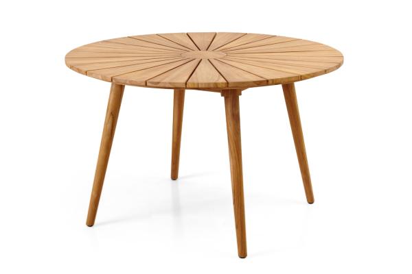 Parga matbord Ø120 H73 cm natur Brafab