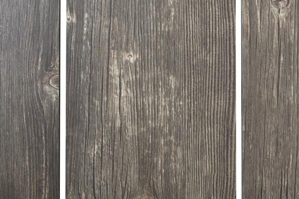 Rodez bordsskiva 209x95 cm grå rustik trälook Brafab