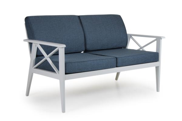 Sottenville 2,5-sits soffa vit Brafab