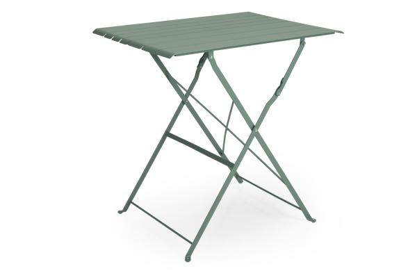 Bradano cafébord fällbart H71 grön Brafab