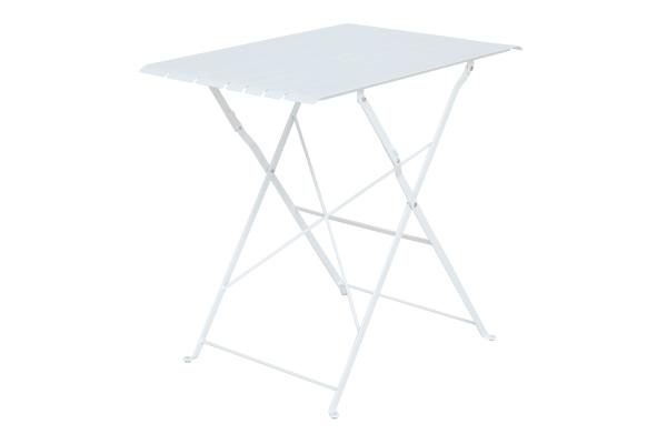 Bradano cafébord fällbart H71 vit Brafab
