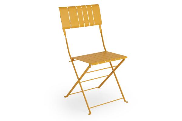Brafab Bradano matstol fällbar gul