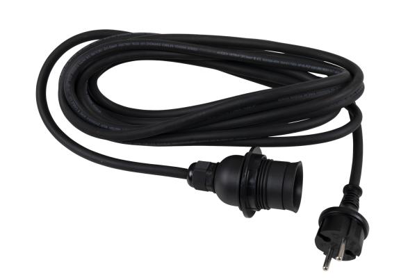 Brafab Cord lampsladd svart 5m
