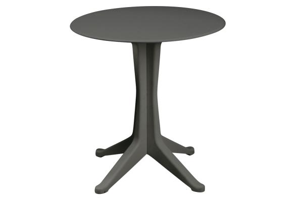Levante cafébord Ø70 cm antracit Brafab
