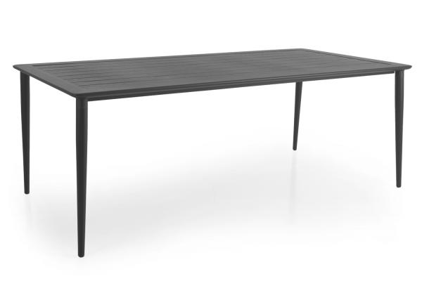 Nimes matbord 200x98 H73 cm antracit Brafab