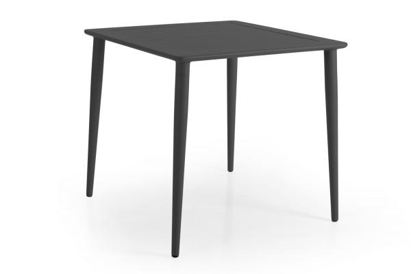 Nimes matbord 78x78 H73 cm antracit Brafab