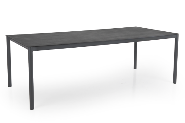 Brafab Renoso matbord 220x100 antracit/grå