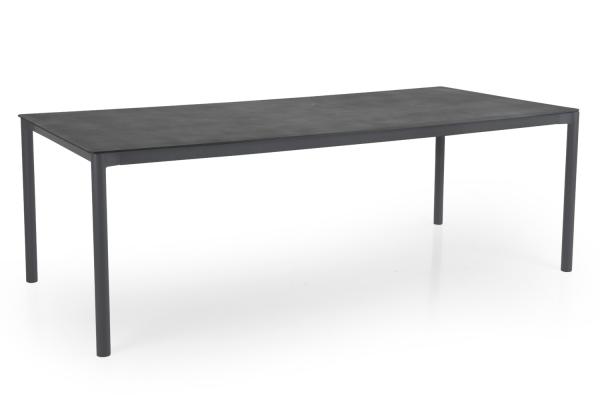 Renoso matbord 220x100 H73 cm grå Brafab