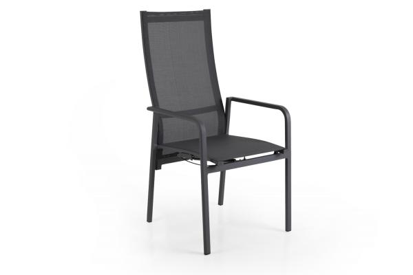 Renoso positionsstol antracit/grå Brafab