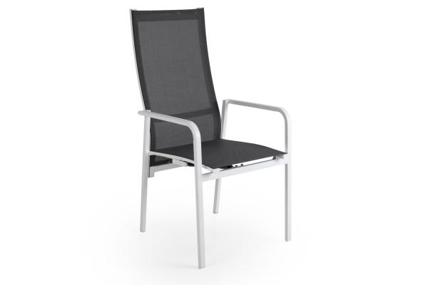 Renoso positionsstol vit/grå Brafab