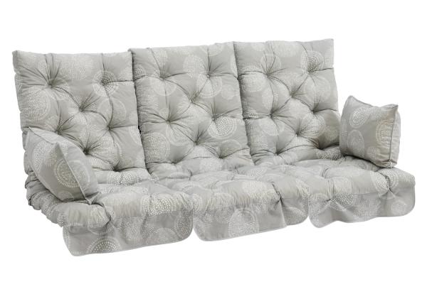Softa hammockdynset grå mönstrat Brafab