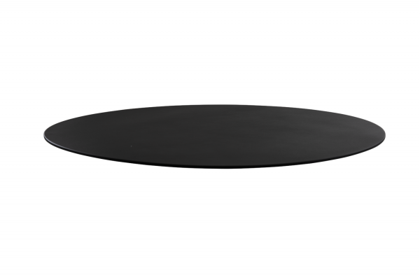 Taverny bordsskiva 65 alu svart Brafab