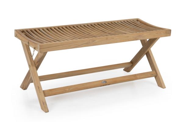 Turin bänk 105x40 H45 cm natur Brafab