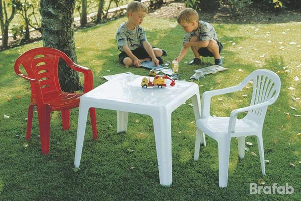 Olle barnbord 51x55 H43 cm vit Brafab
