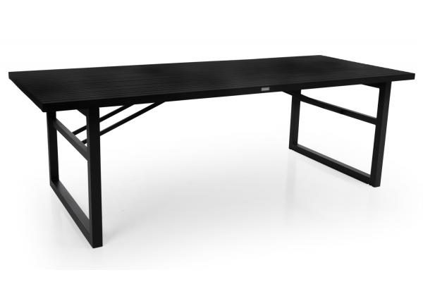 Brafab Vevi matbord 230x95 svart alu