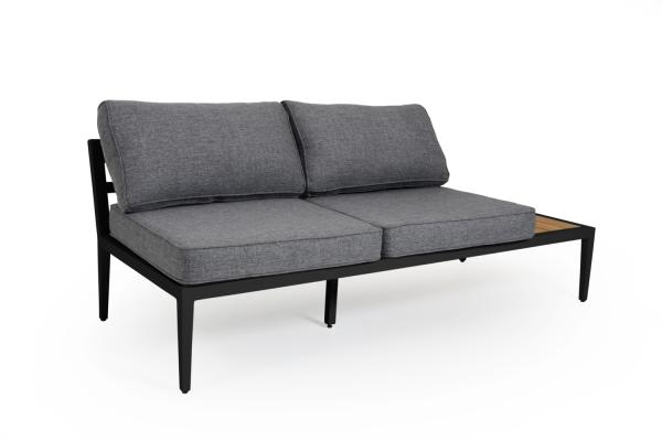 Whistler Soffa 2-sits V matt med dyna Brafab