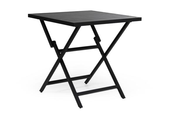 Wilkie cafébord 72x72 svart Brafab