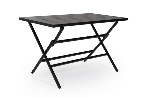 Wilkie cafébord 120x72 svart Brafab